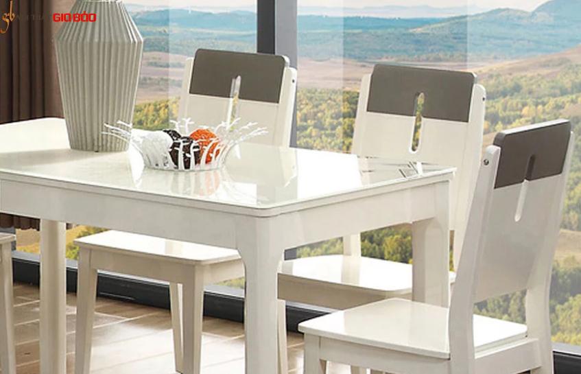 Bộ bàn ăn gia đình 4 chỗ phong cách hiện đại GB-4780