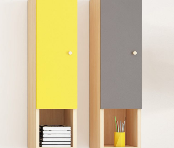 Giá để sách treo tường thiết kế nhỏ gọn GB-2174
