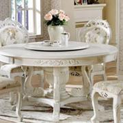 Bộ bàn ăn gia đình phong cách tân cổ điển GB-4138