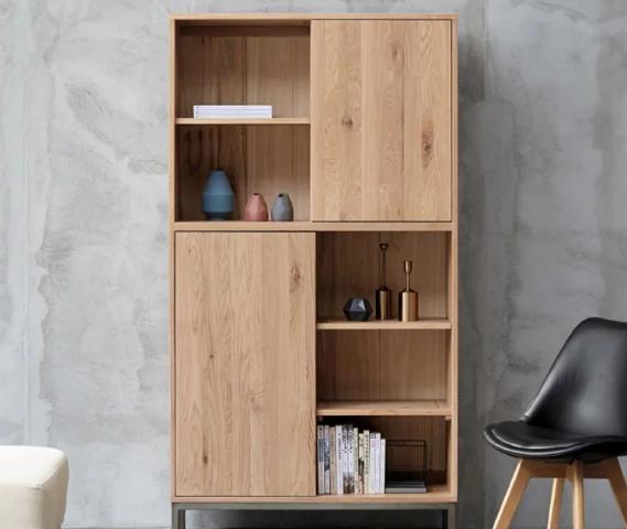 Giá sách gỗ công nghiệp thiết kế sang trọng tiện nghi GB-2181
