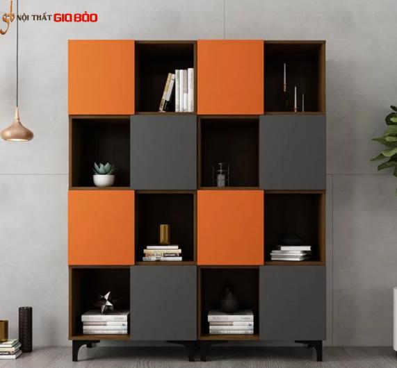 Giá sách gỗ công nghiệp thiết kế đẹp hiện đại tiện nghi GB-2179