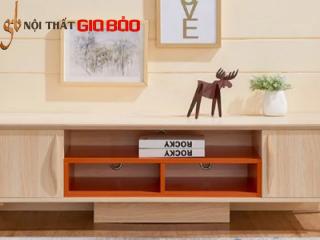 Kệ tivi phòng khách bằng gỗ công nghiệp GB-3315