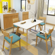 Bộ bàn ăn gỗ thiết kế đẹp GB-4729