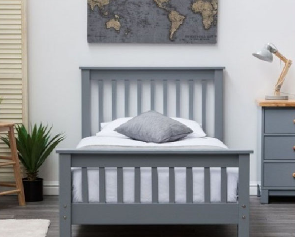 Giường ngủ gỗ phong cách hiện đại GB-942