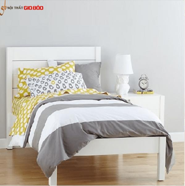 Giường ngủ đơn hiện đại bằng gỗ GB-946