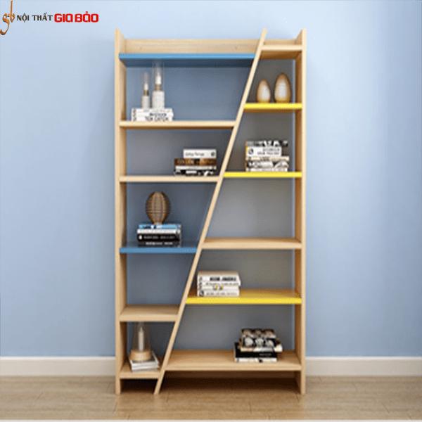 Giá sách gỗ công nghiệp hiện đại thiết kế đẹp GB-2163