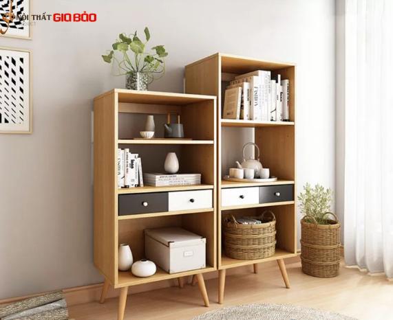 Giá sách gỗ công nghiệp thiết kế nhỏ gọn GB-2154