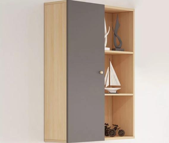 Giá để sách trưng bày phòng khách treo tường GB-2173