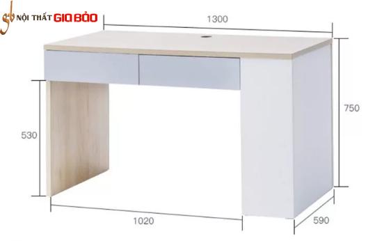 Bàn làm việc gỗ tại nhà thiết kế nhỏ gọn GB-4685