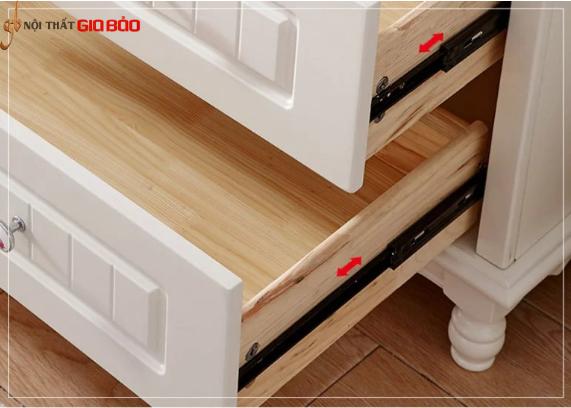 Tủ quần áo gỗ MDF thiết kế sang trọng hiện đại GB-5765