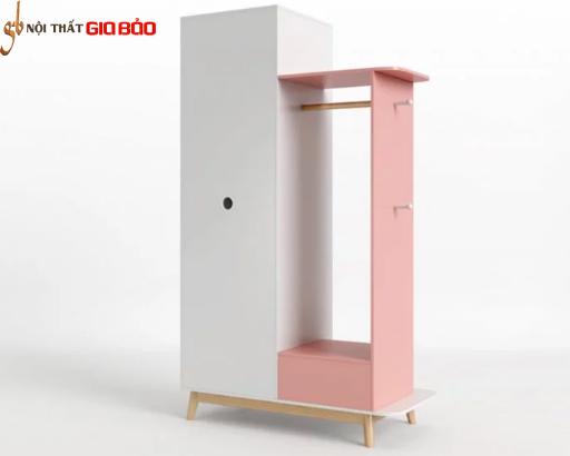 Tủ gỗ đựng quần áo gia đình thiết kế đẹp hiện đại GB-5763