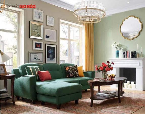 Ghế sofa gia đình thiết kế sang trọng đẹp hiện đại GB-8304