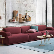 Ghế sofa phòng khách bọc nỉ cao cấp đẹp hiện đại GB-8303