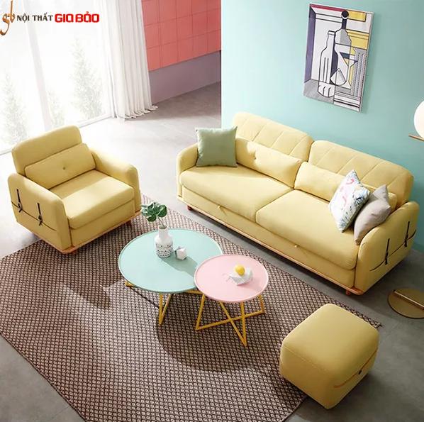 Ghế sofa hiện đại cho phòng khách gia đình GB-8291