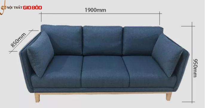 Ghế sofa phòng khách kiểu dáng hiện đại GB-8290