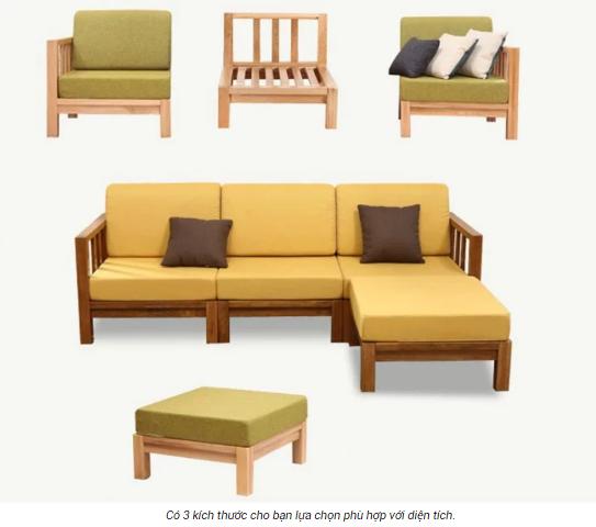 Ghế sofa phòng khách thiết kế sang trọng hiện đại GB-8299