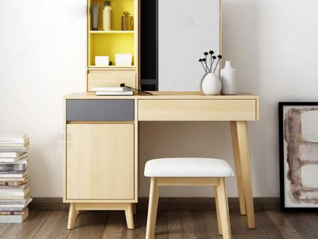 Bàn trang điểm gỗ đẹp phong cách hiện đại GB-4629