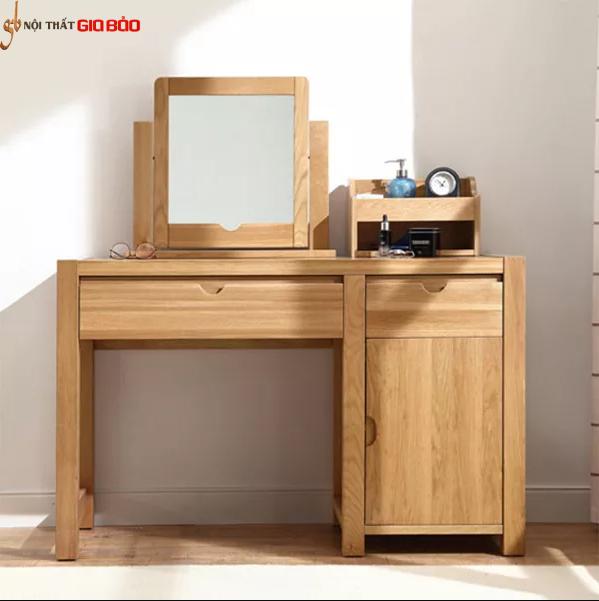 Bàn trang điểm gỗ tự nhiên thiết kế đẹp GB-4665
