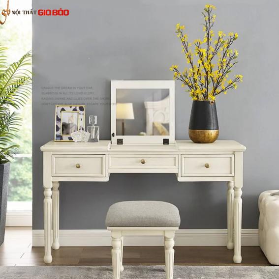 Bộ bàn trang điểm gỗ tự nhiên chất lượng cao GB-4803