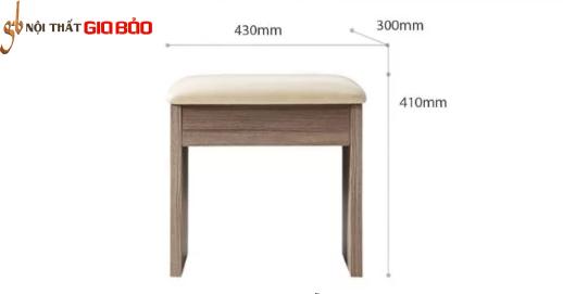 Bàn trang điểm gỗ công nghiệp nhỏ gọn GB-4664