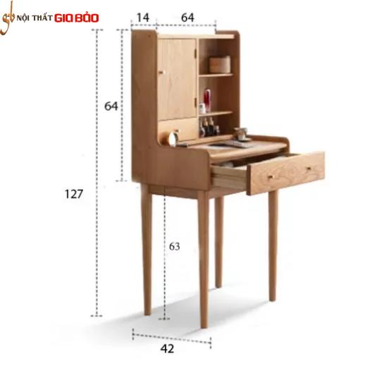 Bàn trang điểm gỗ kiểu dáng nhỏ gọn GB-4756
