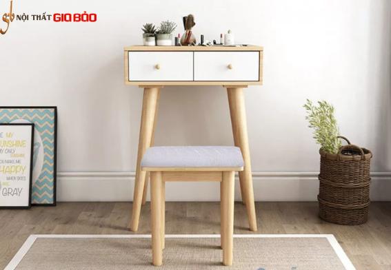 Mẫu bàn trang điểm gỗ công nghiệp nhỏ gọn GB-4800