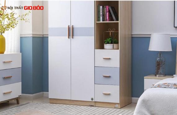 Tủ đựng quần áo gỗ công nghiệp đẹp hiện đại GB-5694
