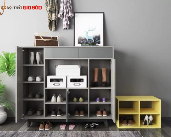 Tủ giày dép gia đình gỗ công nghiệp đẹp hiện đại GB-5716