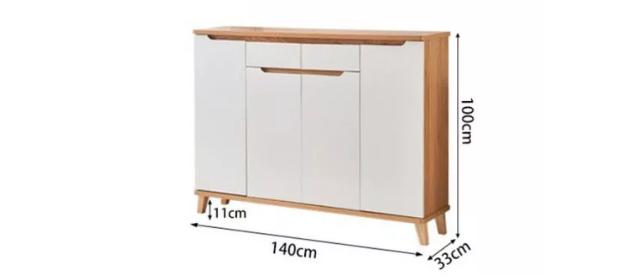 Tủ giày gỗ công nghiệp thiết kế đẹp hiện đại GB-5710