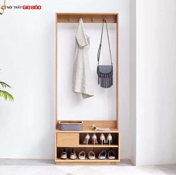 Tủ giày gỗ sồi tự nhiên thiết kế đẹp hiện đại GB-5715Tủ giày gỗ sồi tự nhiên thiết kế đẹp hiện đại GB-5715