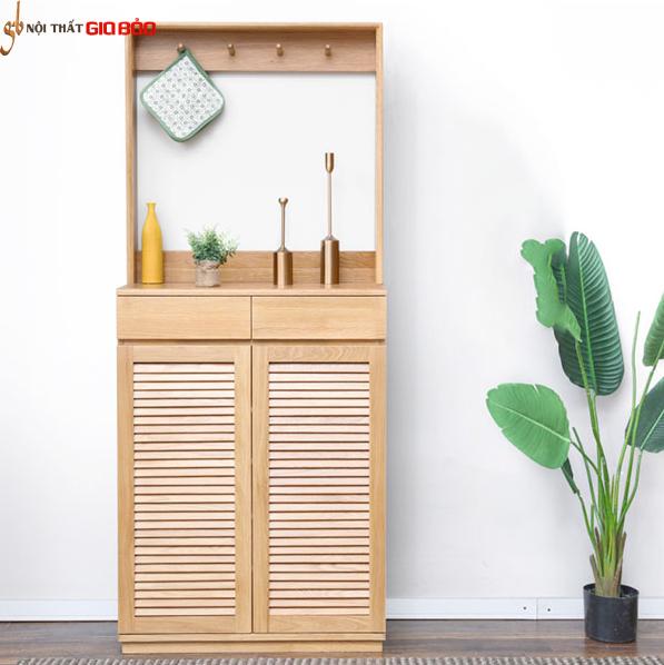 Tủ để giày gia đình bằng gỗ tự nhiên GB-5590