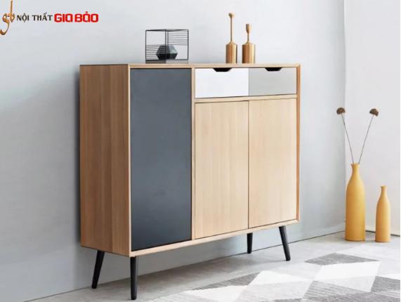 Tủ đựng giày phòng khách gia đình gỗ công nghiệp GB-5777