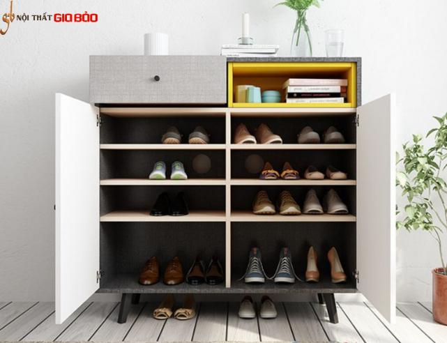 Tủ đựng giày dép nhỏ gọn gỗ công nghiệp GB-5588