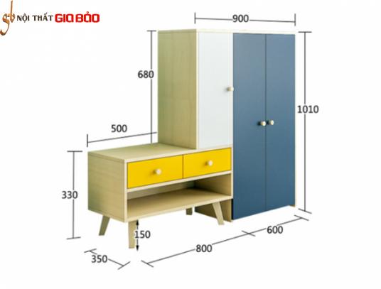 Tủ để giày dép phong cách hiện đại GB-5586