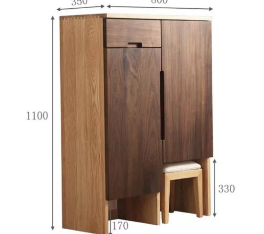 Tủ đựng giày gia đình thiết kế đẹp hiện đại GB-5709