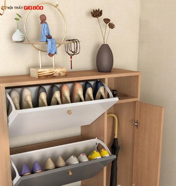 Tủ giày gỗ công nghiệp hiện đại đa năng tiện dụng GB-5720