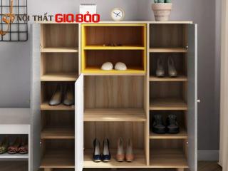 Tủ đựng giày gia đình gỗ công nghiệp đẹp hiện đại GB-5719