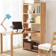 Bộ bàn làm việc kèm giá sách gỗ tiện dụng GB-4793