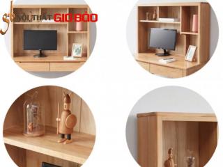 Bàn làm việc tại nhà kiểu dáng nhỏ bằng gỗ sồi GB-4792