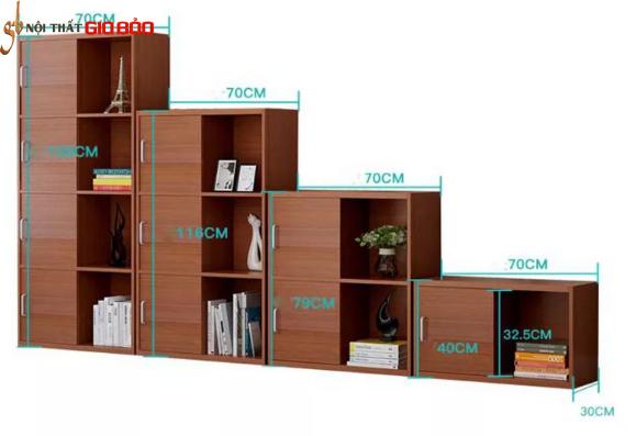 Giá sách gỗ nhỏ tiện dụng cho gia đình GB-2171