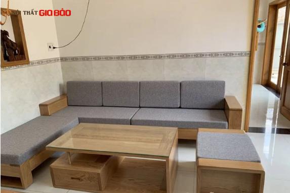 Bộ bàn ghế sofa hiện đại cho phòng khách GHC-810