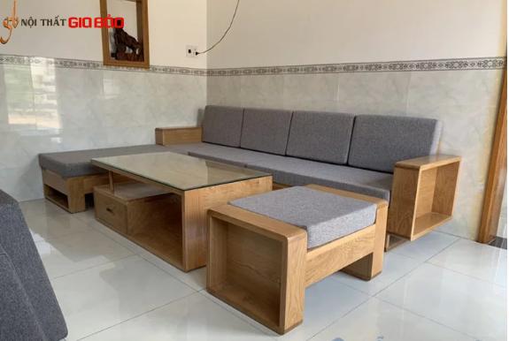 Bộ bàn ghế sofa hiện đại cho phòng khách GB-810