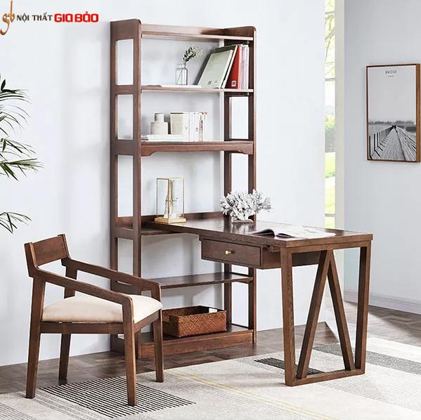 Bàn làm việc gỗ tiện dụng phong cách tối giản GB-4680