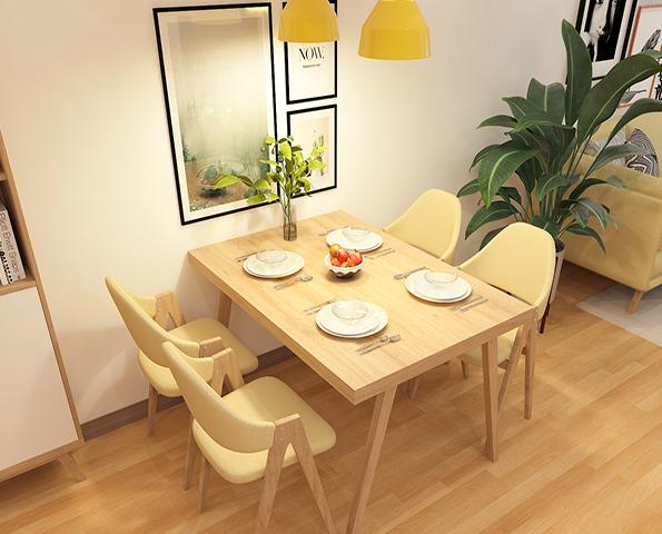 Bàn ăn gia đình thiết kế phong cách hiện đại GB-4631