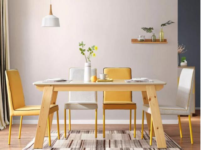 Bàn ăn gia đình hiện đại thiết kế trẻ trung GB-4605