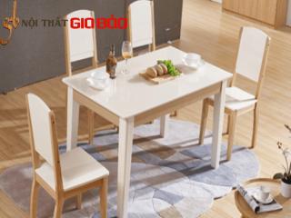 Bàn ăn gỗ tự nhiên phong cách thanh lịch GB-4606