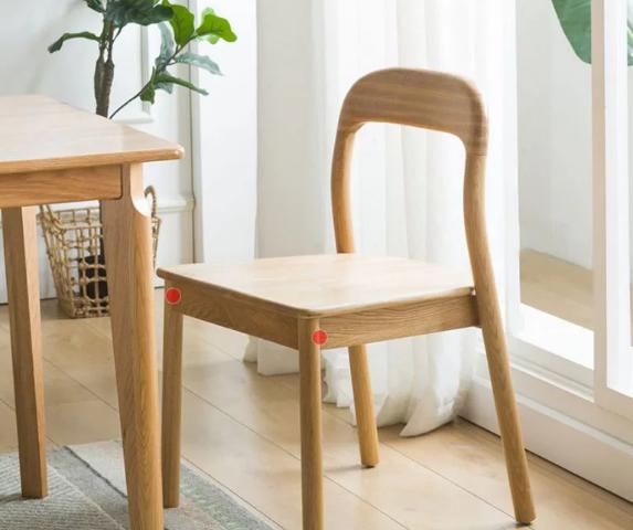Bàn ăn gia đình đẹp bằng gỗ sồi tự nhiên GB-4646