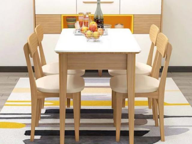 Bàn ăn gia đình nhỏ gọn và tiện dụng GB-4571