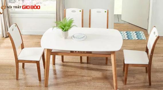 Bộ bàn ăn gia đình 6 chỗ thiết kế đẹp GB-4608