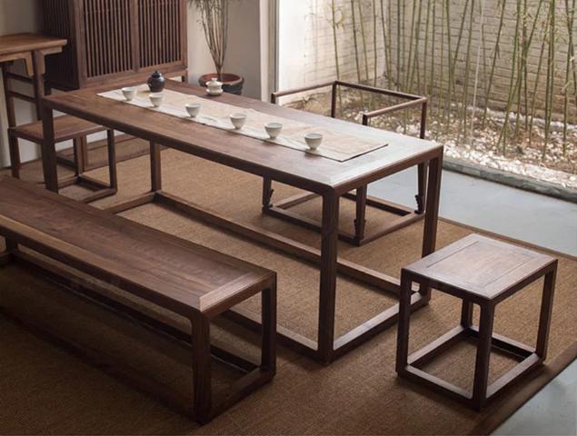 Bộ bàn ăn gia đình phong cách tối giản GB-4567